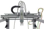 fluido hidráulico robótico modelo 3d
