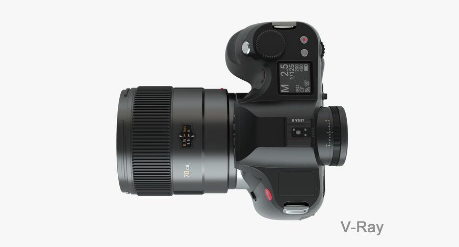 徕卡S Typ 007 royalty-free 3d model - Preview no. 14