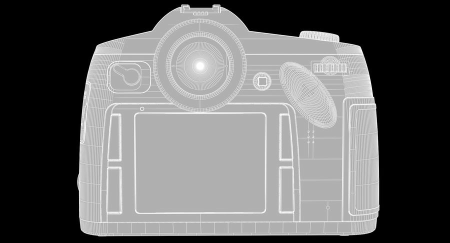 徕卡S Typ 007 royalty-free 3d model - Preview no. 21