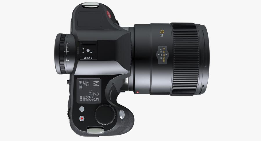 徕卡S Typ 007 royalty-free 3d model - Preview no. 7