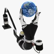 World in Hand 3d model