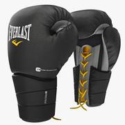 Boxhandskar Everlast Protex 3d model