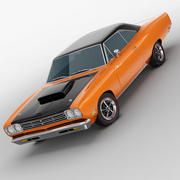 Plymouth Road Runner 1969 3d model