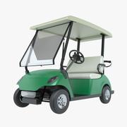 Carrinho de golfe 3d model