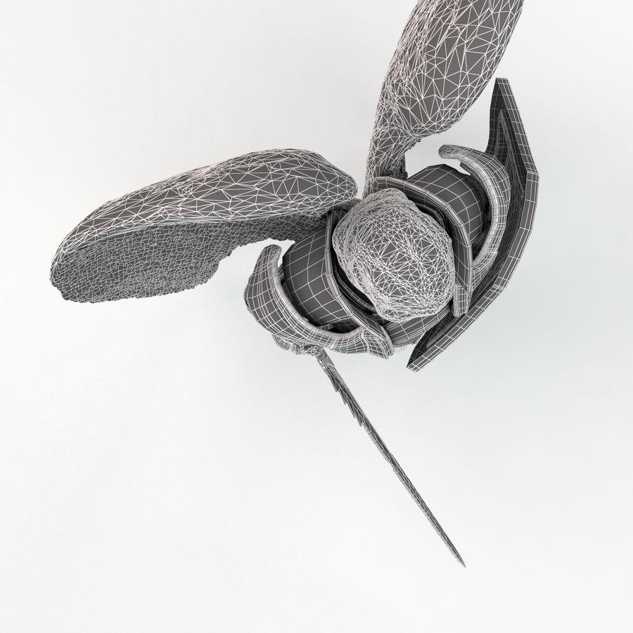Statua anioła royalty-free 3d model - Preview no. 19