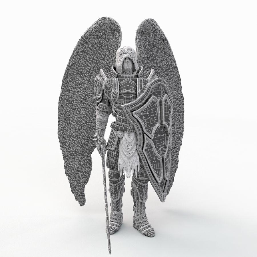 Statua anioła royalty-free 3d model - Preview no. 15
