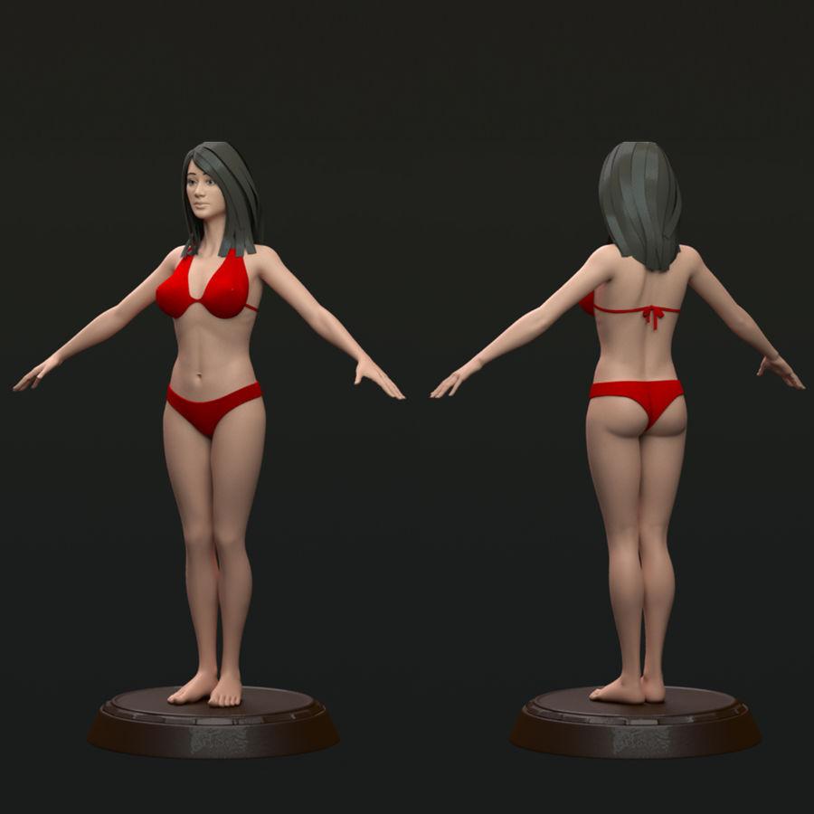 Bikini femme royalty-free 3d model - Preview no. 1