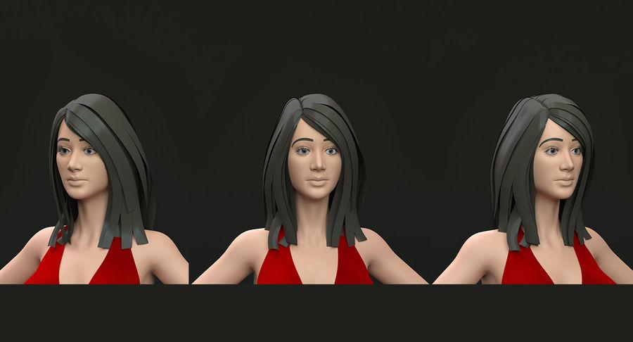Bikini femme royalty-free 3d model - Preview no. 3
