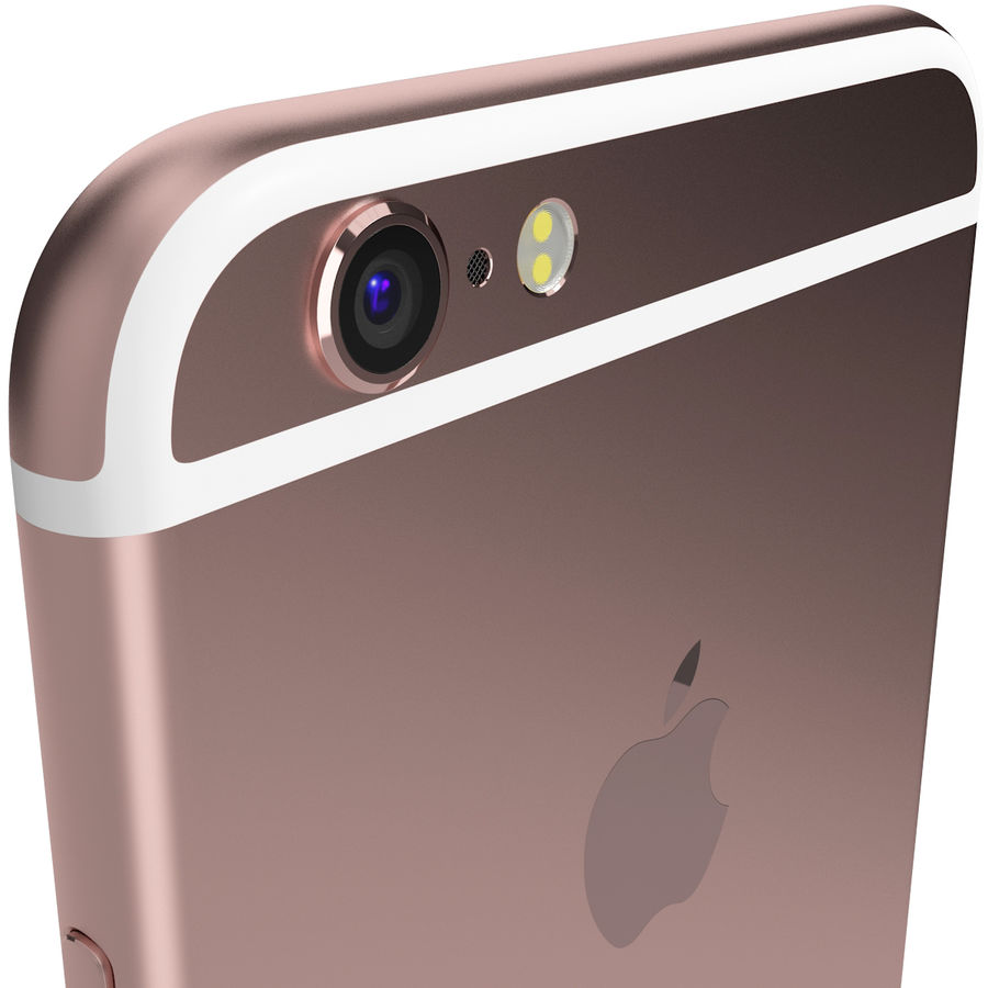 Kolekcja Apple iPhone 6s i 6s Plus royalty-free 3d model - Preview no. 48