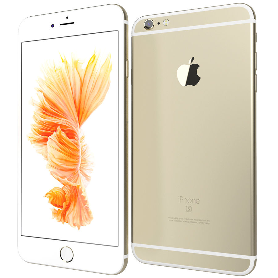 Kolekcja Apple iPhone 6s i 6s Plus royalty-free 3d model - Preview no. 90