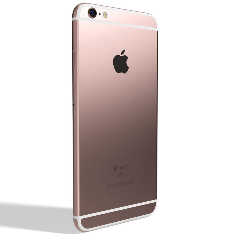 Kolekcja Apple iPhone 6s i 6s Plus royalty-free 3d model - Preview no. 131