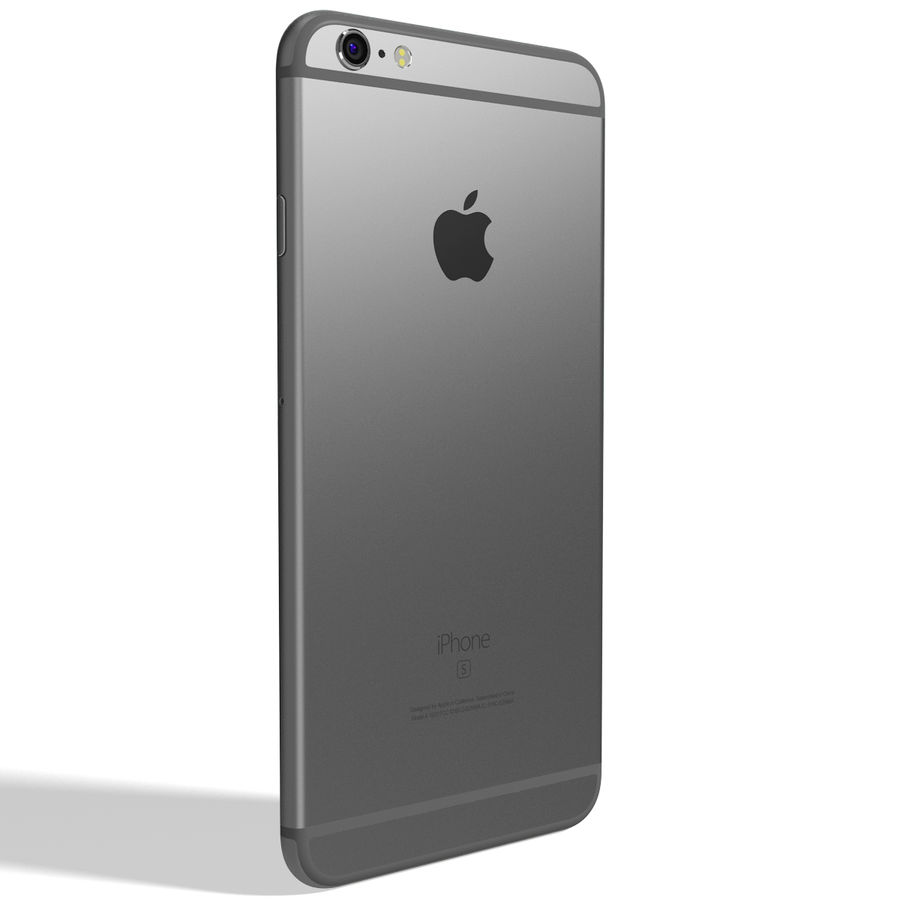 Kolekcja Apple iPhone 6s i 6s Plus royalty-free 3d model - Preview no. 112