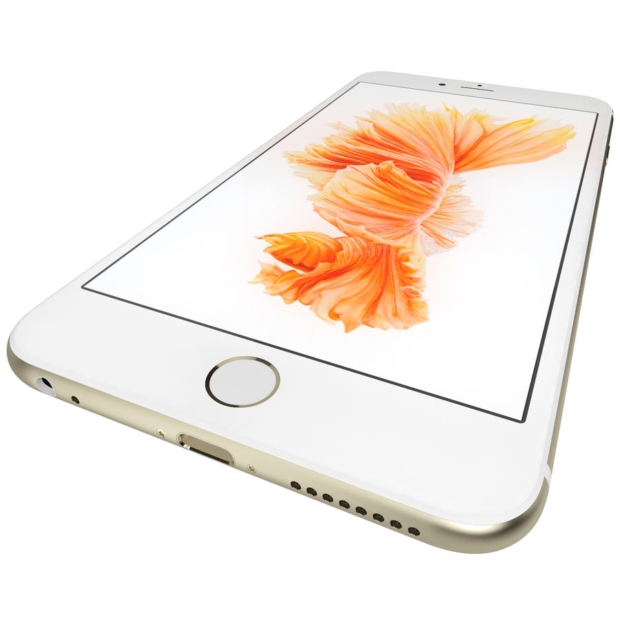 Kolekcja Apple iPhone 6s i 6s Plus royalty-free 3d model - Preview no. 103