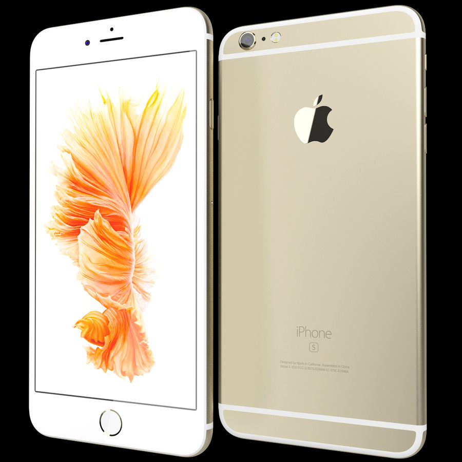 Kolekcja Apple iPhone 6s i 6s Plus royalty-free 3d model - Preview no. 92