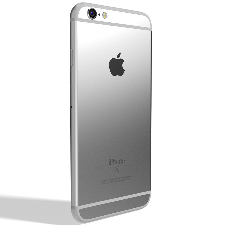 Kolekcja Apple iPhone 6s i 6s Plus royalty-free 3d model - Preview no. 64
