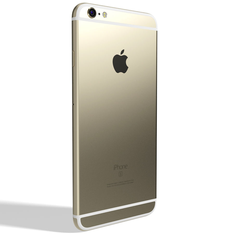 Kolekcja Apple iPhone 6s i 6s Plus royalty-free 3d model - Preview no. 95