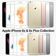 Colección Apple iPhone 6s y 6s Plus modelo 3d