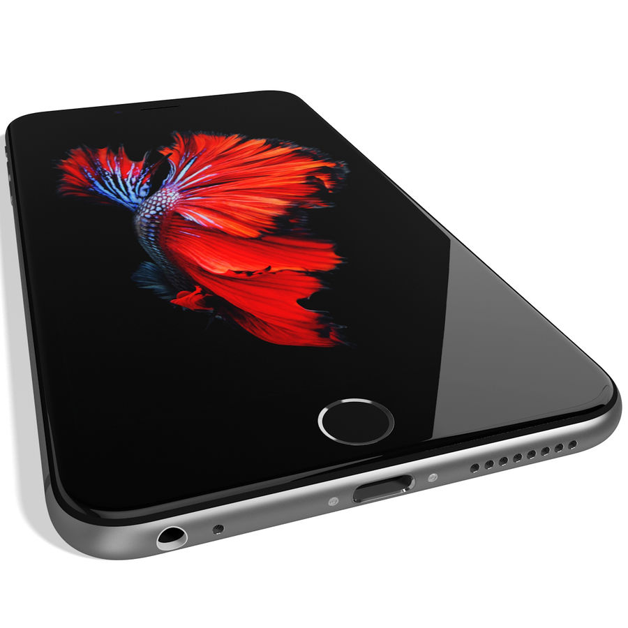 Kolekcja Apple iPhone 6s i 6s Plus royalty-free 3d model - Preview no. 118