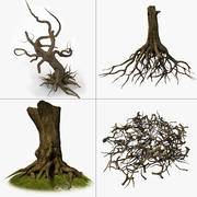 Tree Roots collectie 3d model