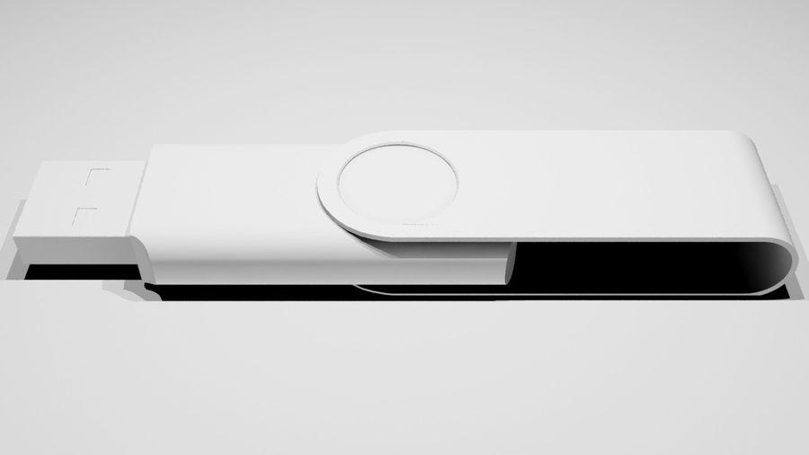USB Stick royalty-free 3d model - Preview no. 5
