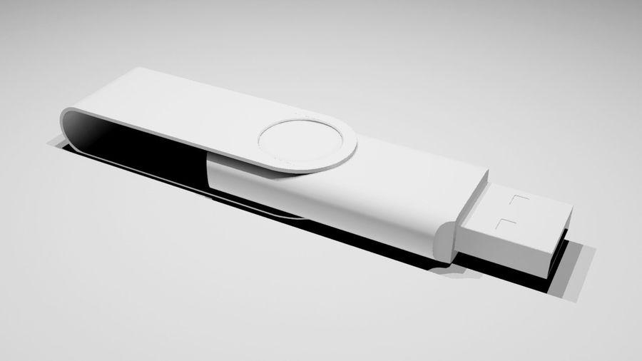 USB Stick royalty-free 3d model - Preview no. 4