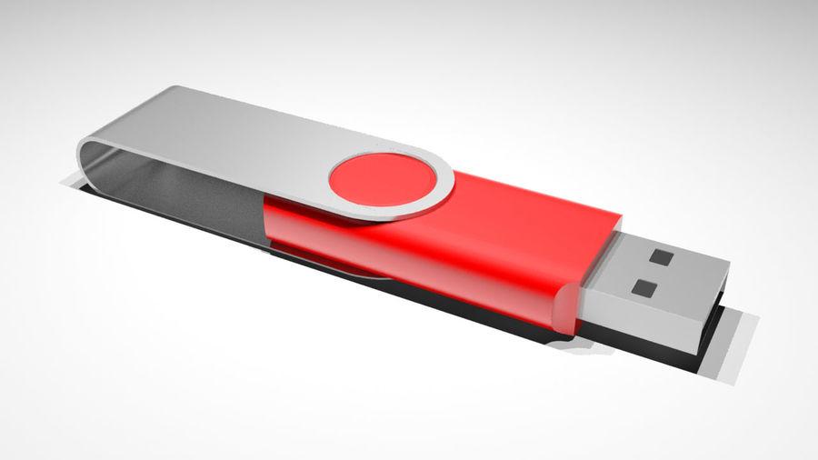 USB Stick royalty-free 3d model - Preview no. 1