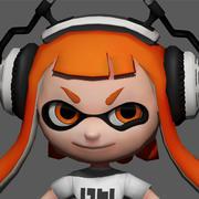 Squid Girl 3d model