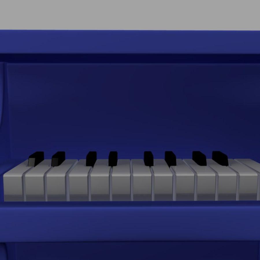 ピアノおもちゃ royalty-free 3d model - Preview no. 4