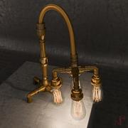 Vintage Table Light 3d model