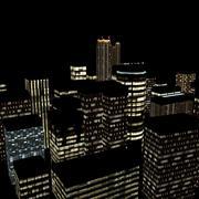 Cidade da noite 3d model