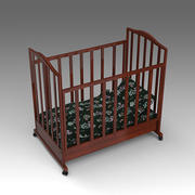 Baby Crib_014 3d model