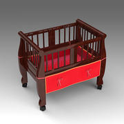 Baby Crib_024 3d model