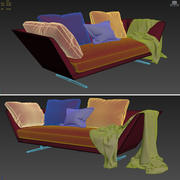 ZEUS Sofa  FLEXFORM 3d model