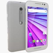 Motorola Moto G(第3世代)ホワイト 3d model