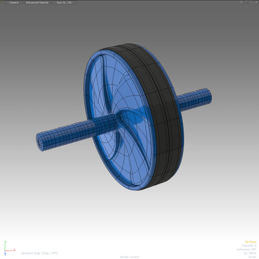 Sport Equipment_001 royalty-free 3d model - Preview no. 2