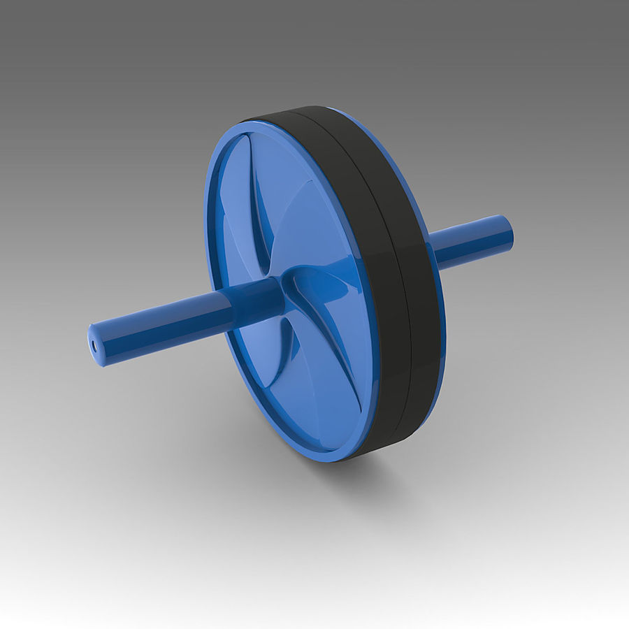Sport Equipment_001 royalty-free 3d model - Preview no. 4