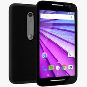 Motorola Moto G (3.a generación) Negro (1) modelo 3d