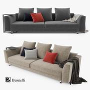 Busnelli Burton tweezitsbank 3d model