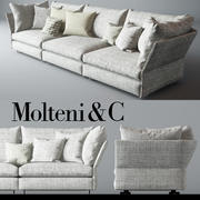 Molteni & C Holiday Sofa 3d model