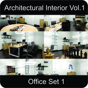 Office Architectural Interior Vol. 1 3d model
