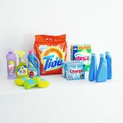 Prodotti per la pulizia 3d model