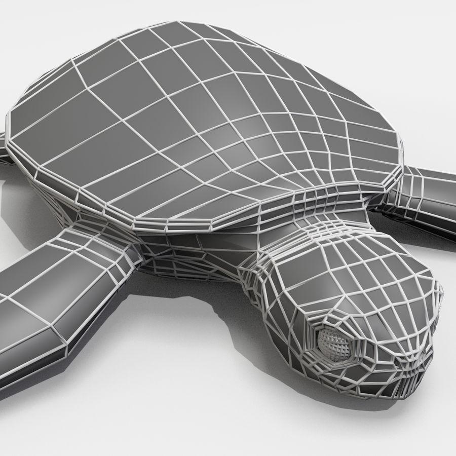 Tartarugas royalty-free 3d model - Preview no. 7