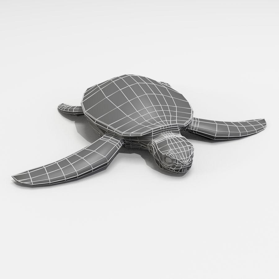 Tartarugas royalty-free 3d model - Preview no. 6
