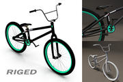 BMX自転車 3d model