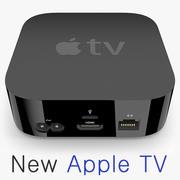 새로운 Apple TV 2015 3d model