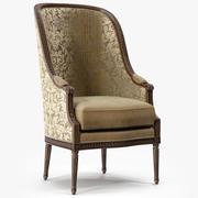 Ralph Lauren Home Victoria Falls Louis XVI Chair 3d model