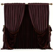 Classic curtains 3d model
