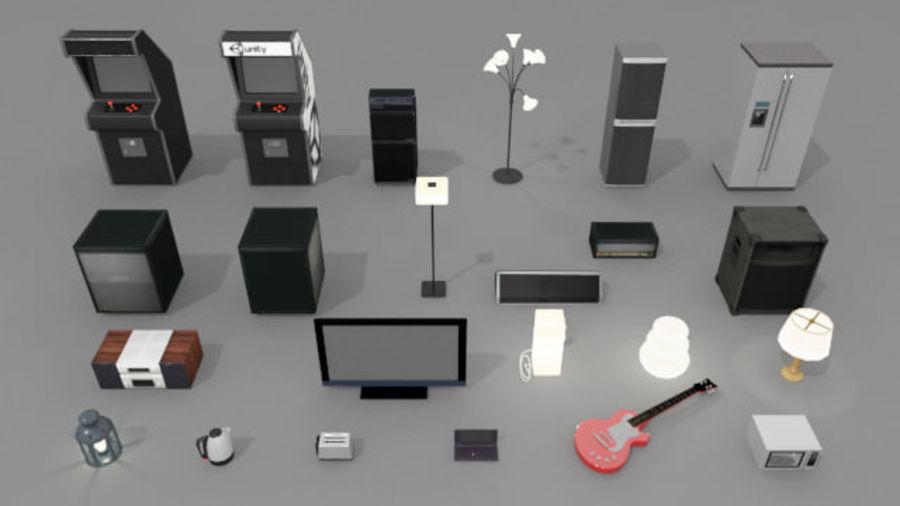 가제트 및 전자 제품 팩 royalty-free 3d model - Preview no. 1