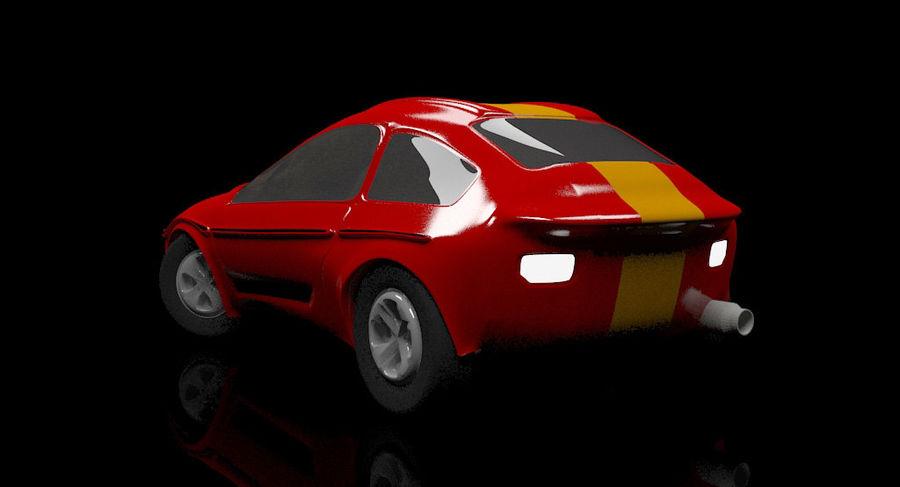гоночный автомобиль royalty-free 3d model - Preview no. 2