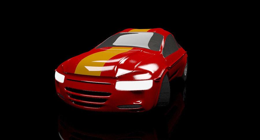 гоночный автомобиль royalty-free 3d model - Preview no. 1